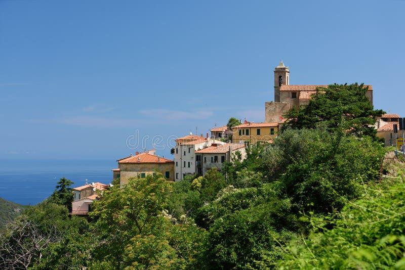 Poggio, Tuscany, Elba, Italy royalty free stock image