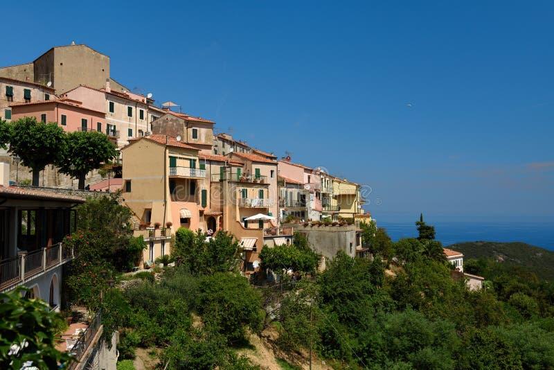 Poggio, Tuscany, Elba, Italy stock photo