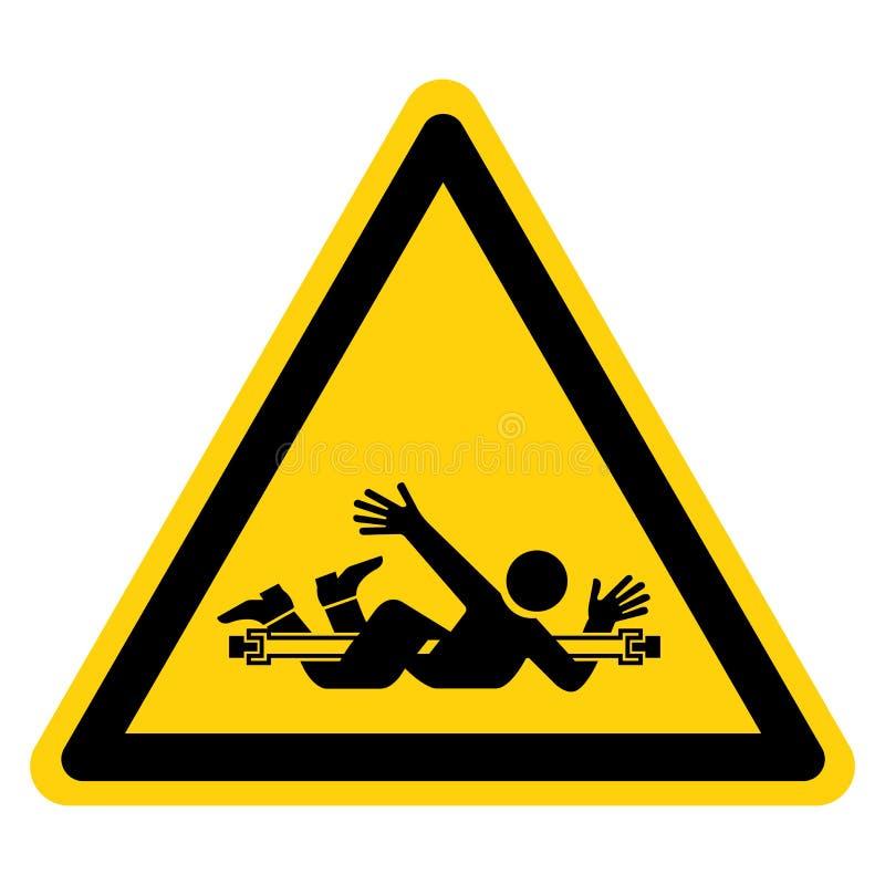 Pogmatwanie P?odozmiennego dyszla symbolu znak Odizolowywa Na Bia?ym tle, Wektorowa ilustracja ilustracji