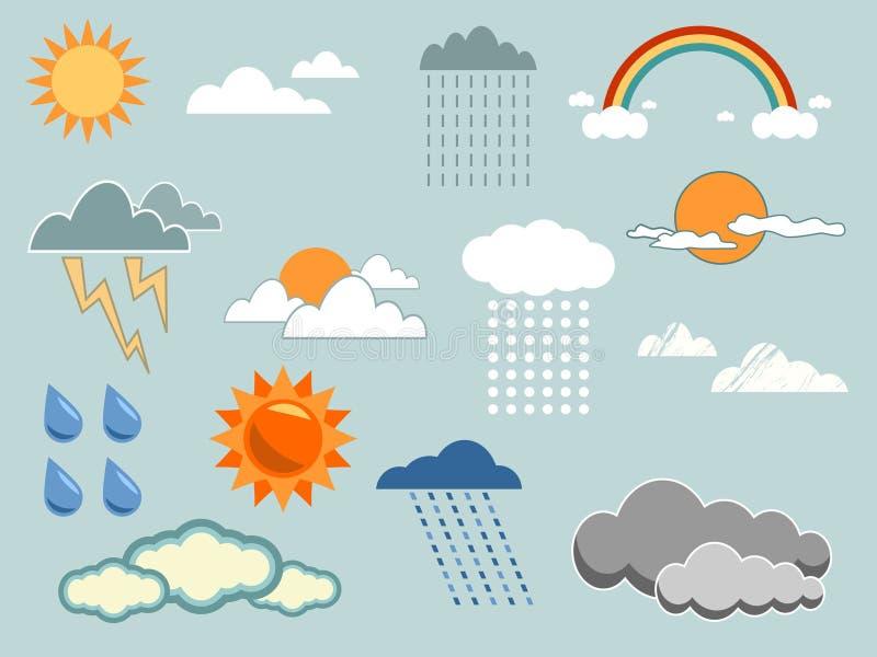 pogoda jest element ilustracji