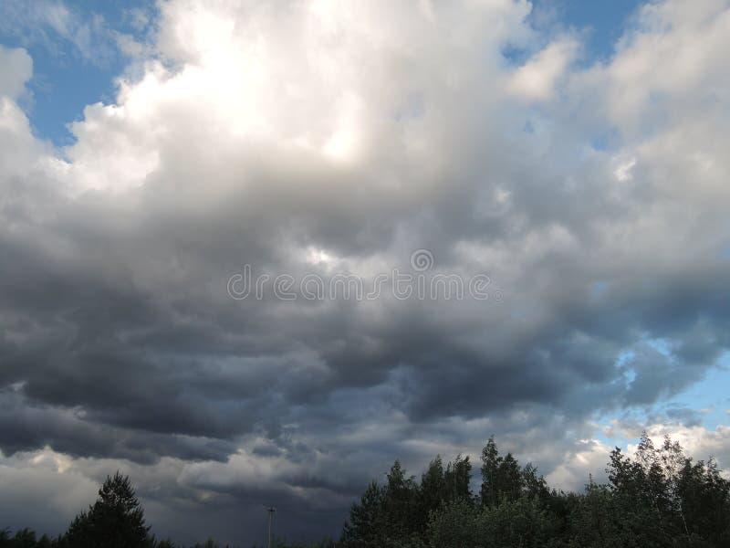pogoda sztormowa obrazy stock