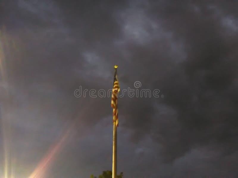 Pogoda sztormowa America obraz stock