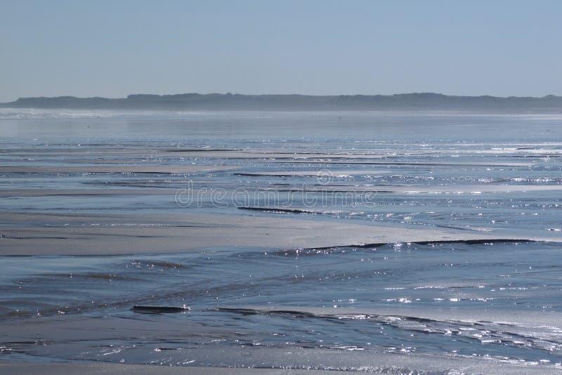 Pogodna plaża obrazy stock