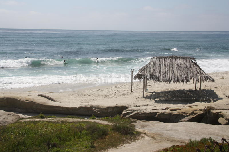 Pogodne plaże obraz royalty free