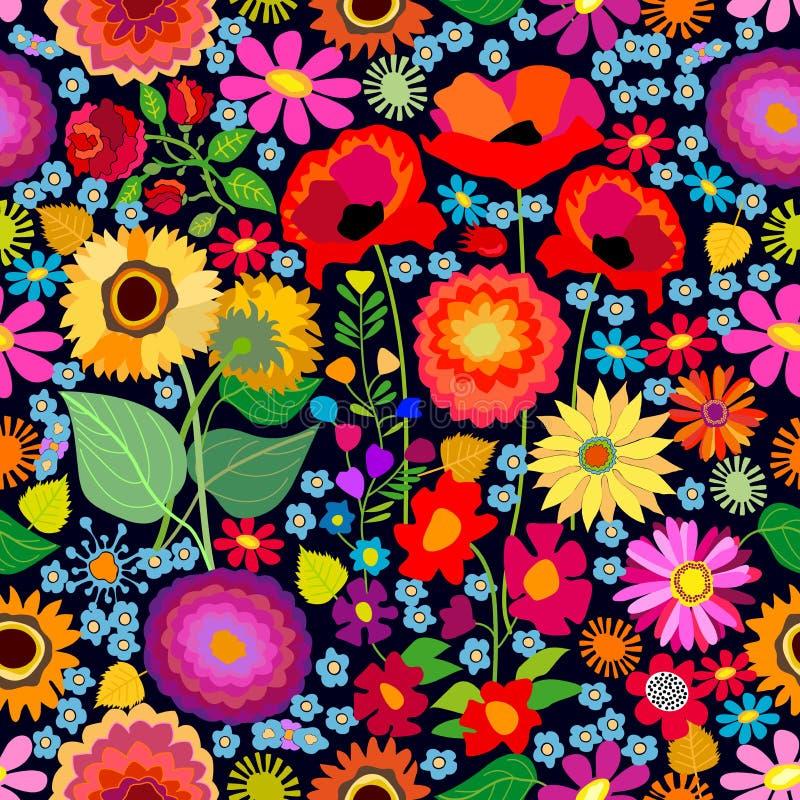 Pogodny jesień dywan royalty ilustracja