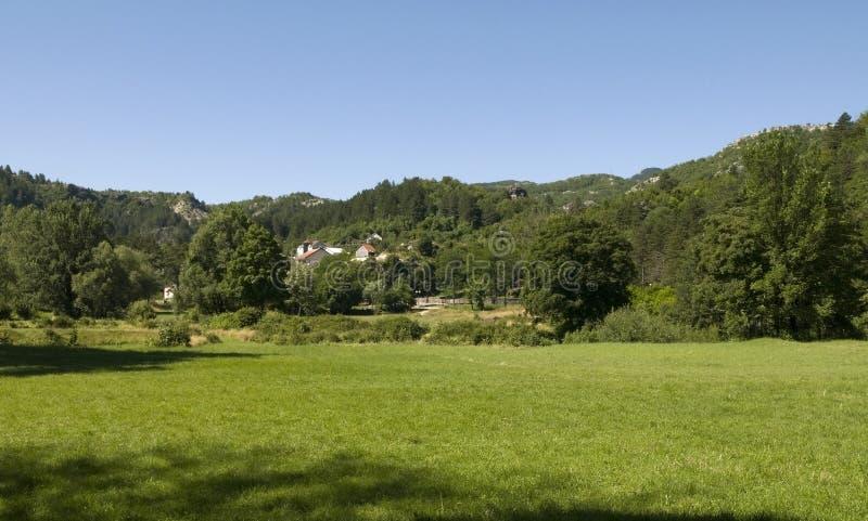 pogodny krajobrazowy lato zdjęcia stock