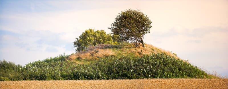 pogrzebowa cairn Denmark obrazy royalty free