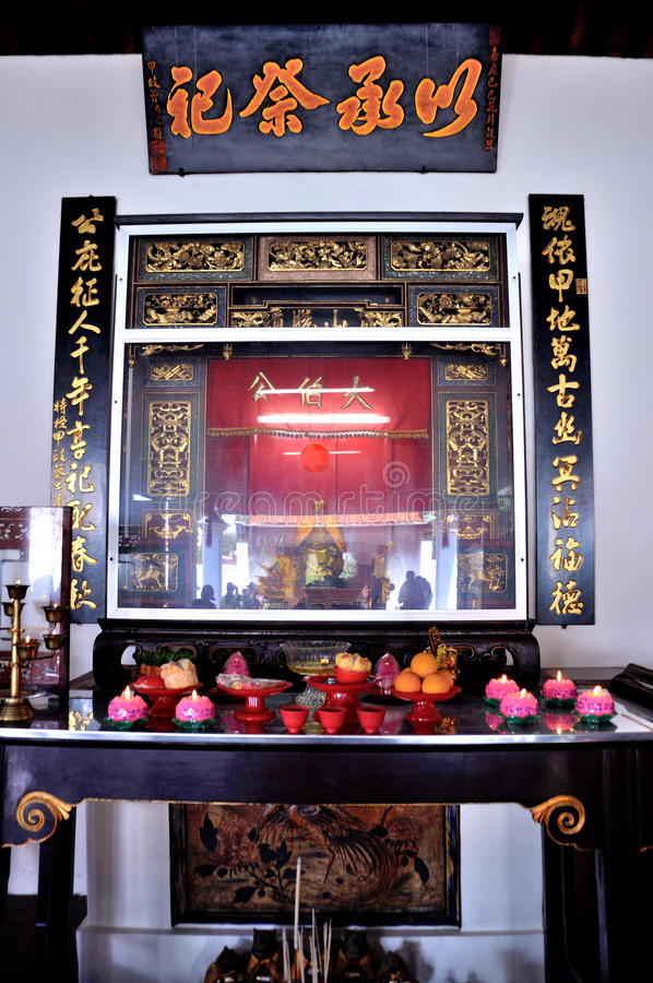 Poh San Teng Temple imagen de archivo libre de regalías