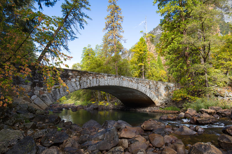 Pohono Bridge royalty free stock image