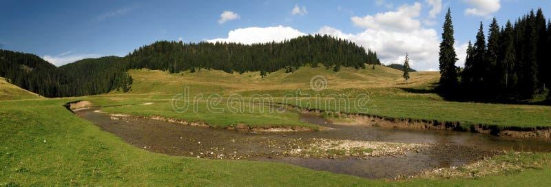Poiana Ponor - Tal in Bihor-carst Bergen in Apuseni in Rumänien stockbilder