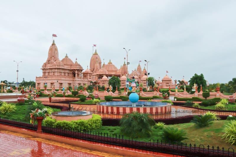 Poicha Swaminarayan dham świątynia - India zdjęcia stock
