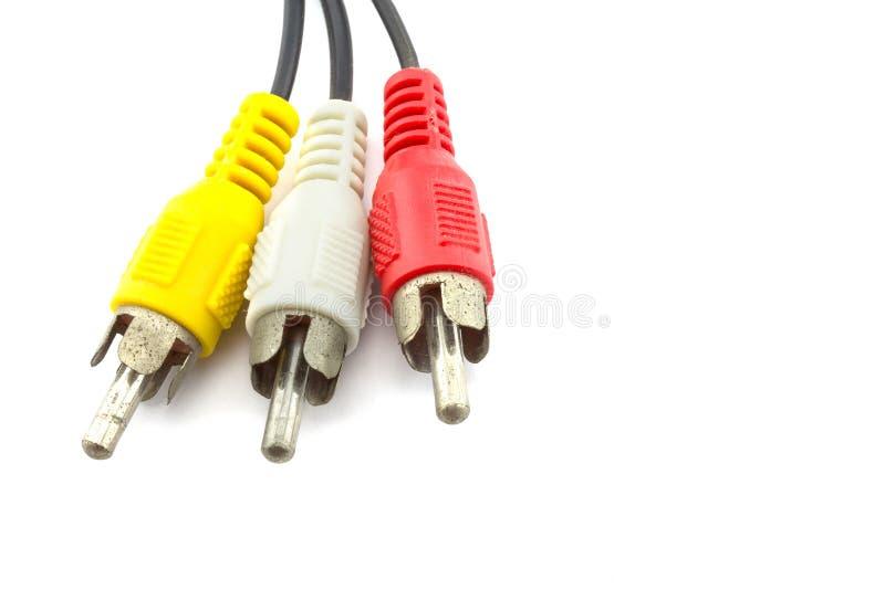 Poids du commerce de câble d'isolement images stock