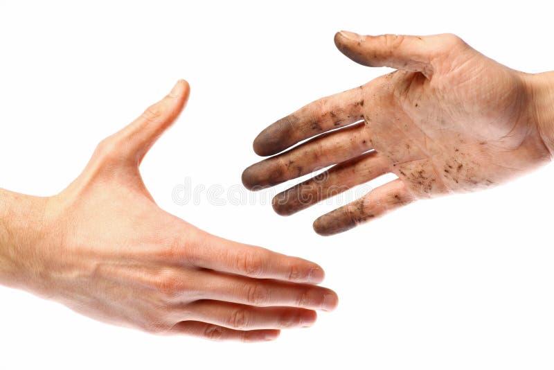 Poignée de main sale images stock