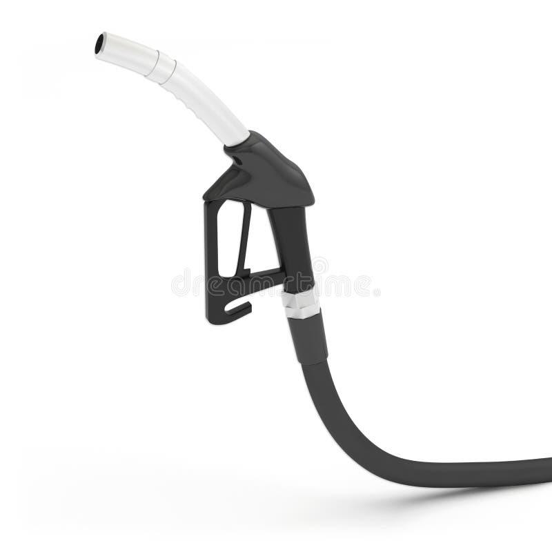 Poignée de pistolet de gazole d'essence de pompe illustration de vecteur