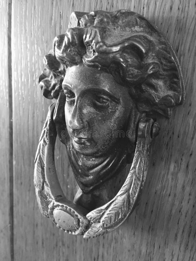 Poignée de Poignée de porte/porte photo stock