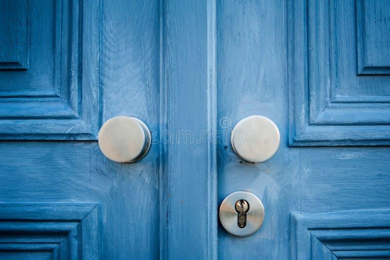Poignée de porte élégante image stock