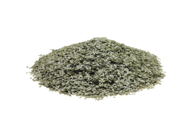 Poignée de poudre sans fumée image stock