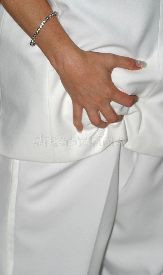 Poignée Wedding de danse image stock
