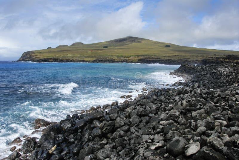 Download Poike peninsula stock image. Image of solitude, island - 17317367