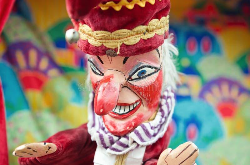 Poinçon et judy, marionnette de poinçon images libres de droits