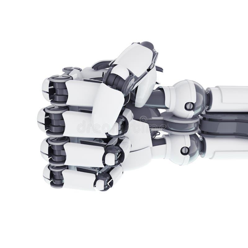 Poing robotique illustration libre de droits