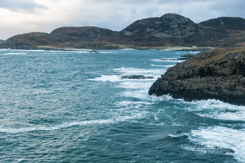 Point of Ardnamurchan royalty free stock images