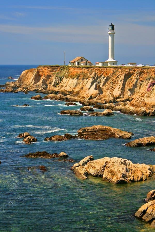 Point Arena Lighthouse royalty free stock photos