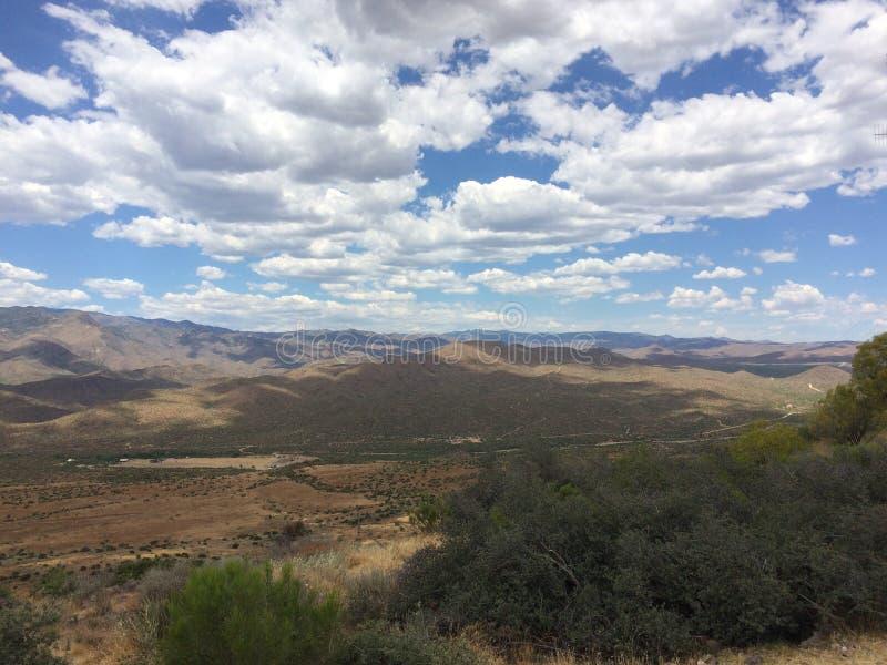 Point Arizona de coucher du soleil photographie stock libre de droits