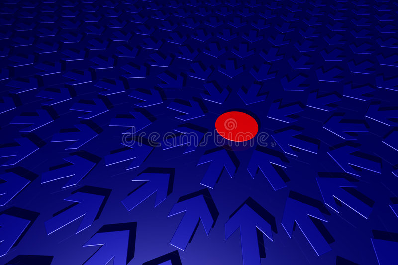 Download Point and arrows stock illustration. Illustration of dynamic - 1958249