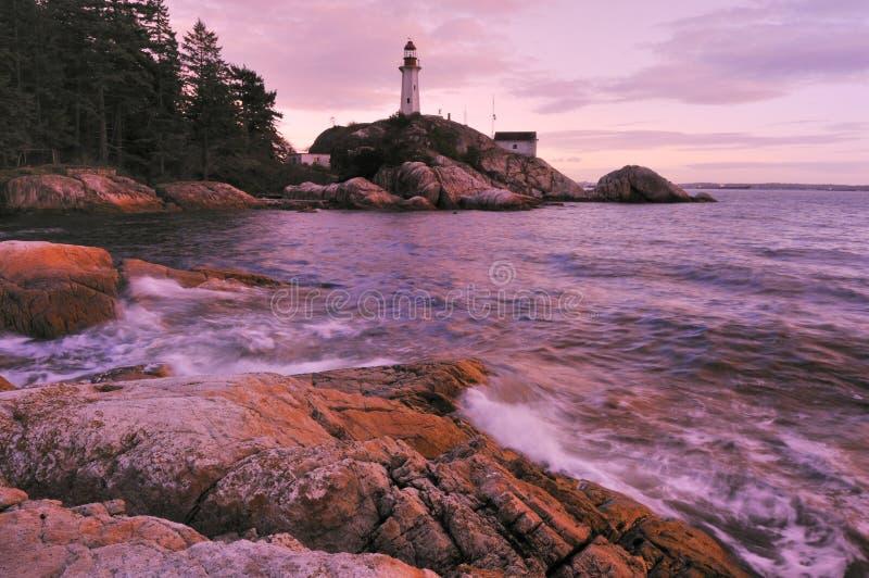 Point atkinson lighthouse royalty free stock image