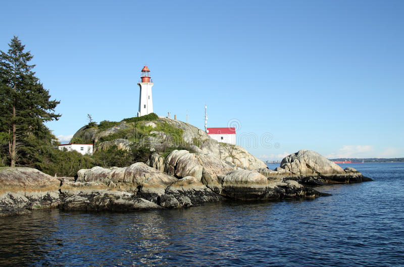 Point Atkinson Lighthouse. royalty free stock photo