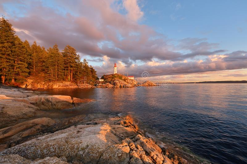 Point Atkinson Lighthouse royalty free stock photography