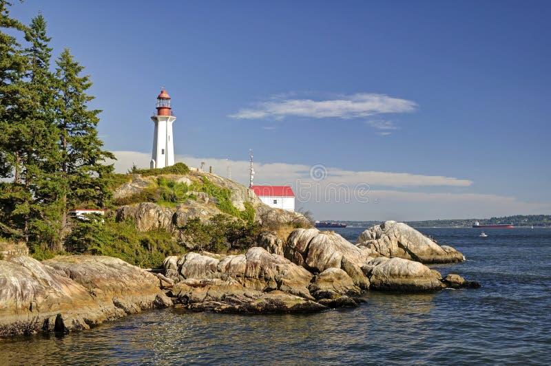 Point Atkinson Lighthouse royalty free stock photos