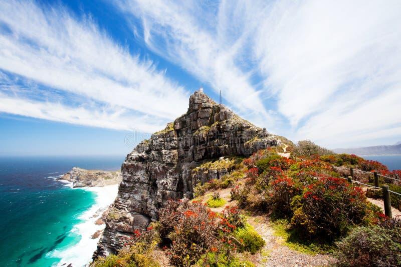 Point de cap, Afrique du Sud photo libre de droits