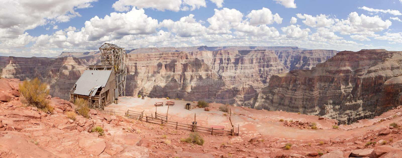 Point de guano - Grand Canyon (jante occidentale) image stock