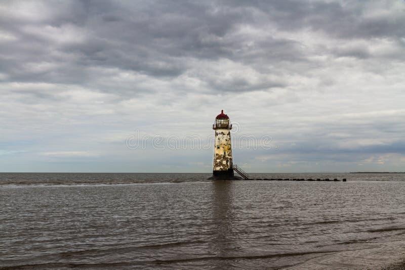 Point de phare d'Ayr photos libres de droits
