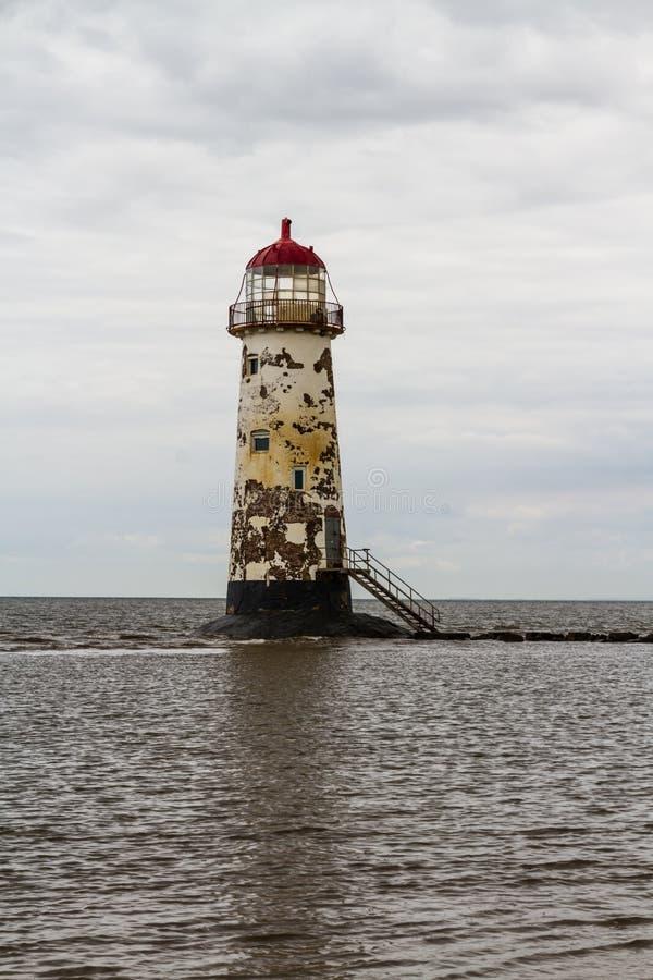 Point de phare d'Ayr photographie stock