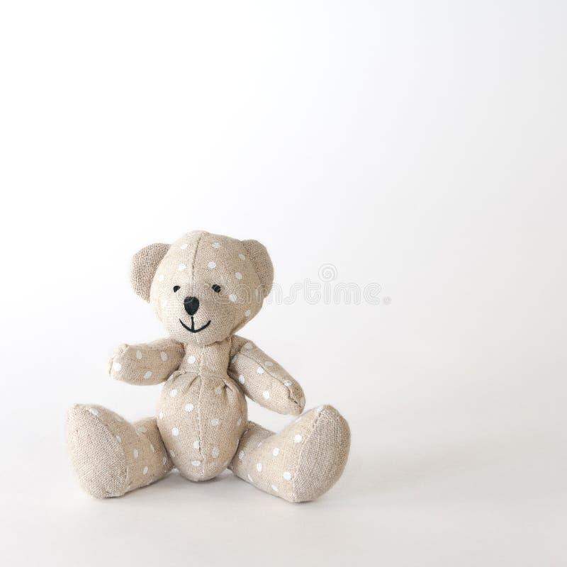 Point de polka mignon d'ours-jouet photo stock