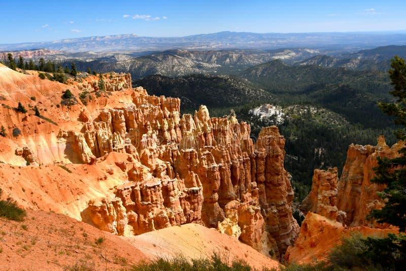 Point de Ponderosa chez Bryce Canyon National Park photo libre de droits