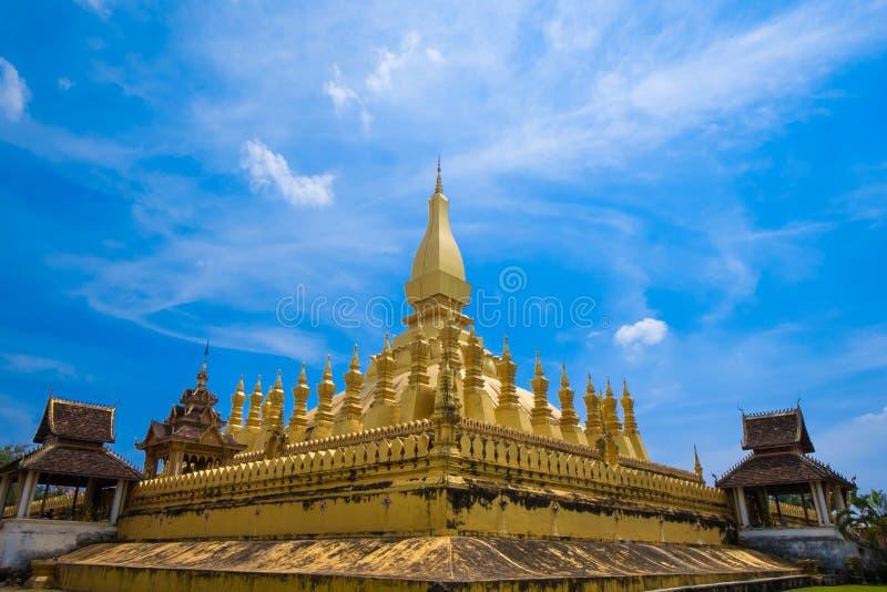 Point de repère au Laos images stock