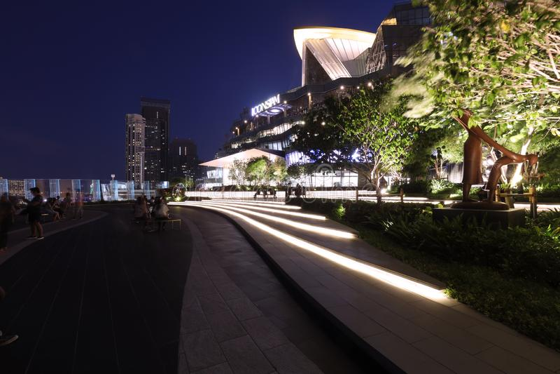 Point de repère de bâtiments à l'icône Siam image libre de droits