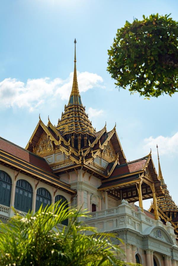 Point de rep?re de Bangkok - le palais grand image stock