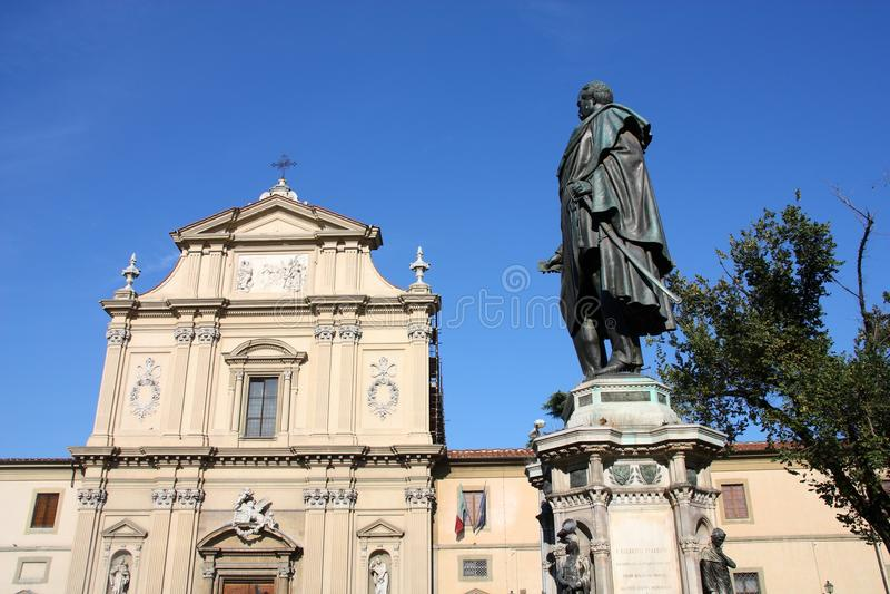 Point de repère de Florence photographie stock libre de droits