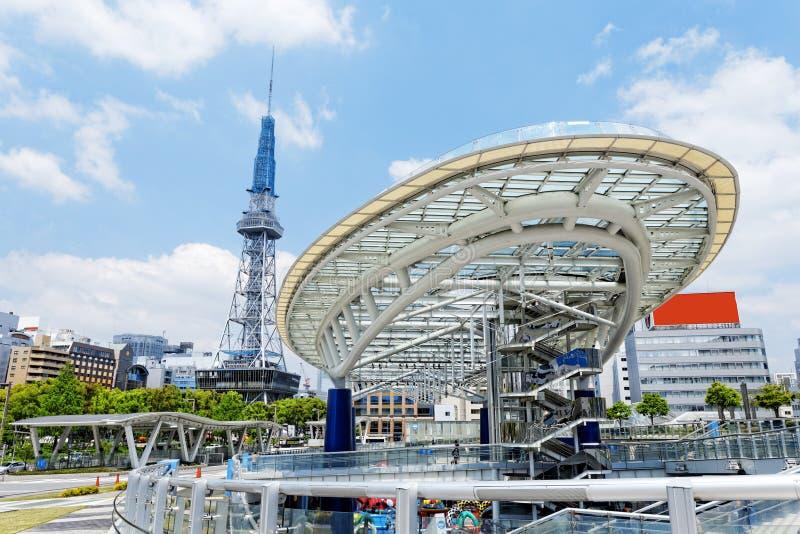Point de repère de Nagoya photo stock