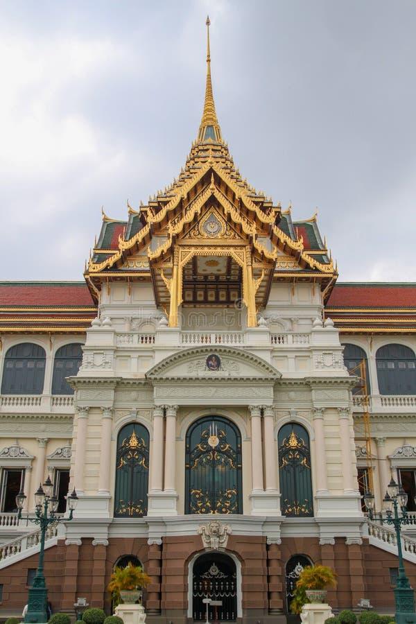 Point de repère grand royal de palais à Bangkok chez la Thaïlande photographie stock
