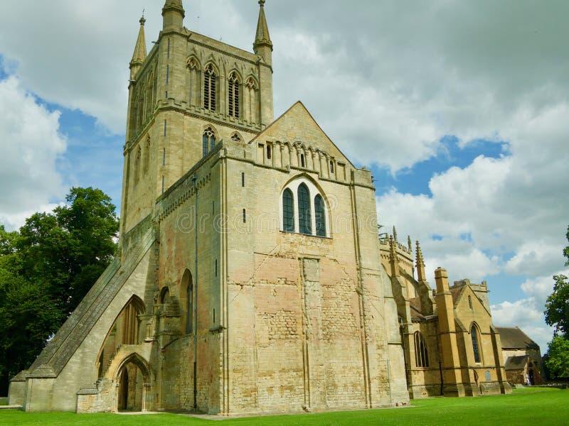 Point de repère de l'abbaye image stock