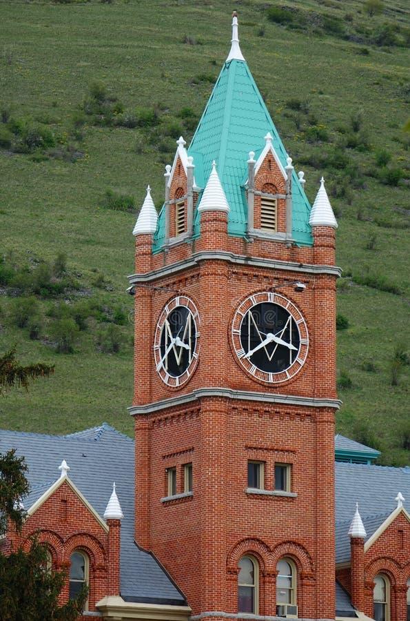 Point de repère de Missoula depuis 1898 - Montana photo stock