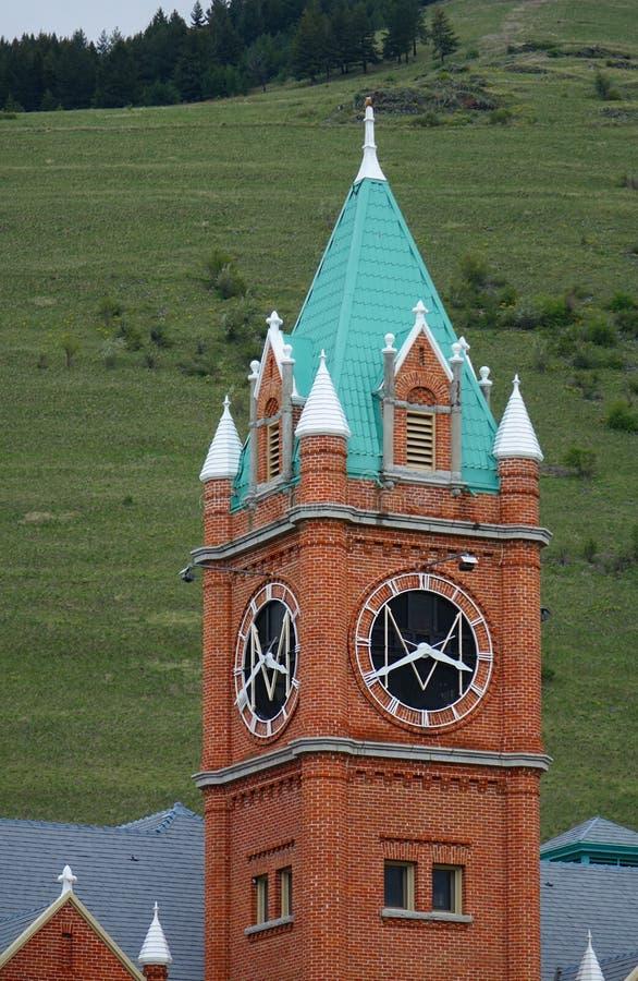 Point de repère de Missoula depuis 1898 - Montana photographie stock