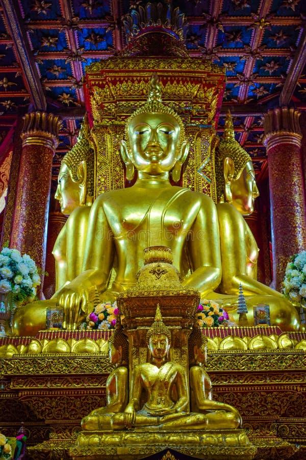 Point de repère de Nan, Thaïlande - Wat Phumin ou temple de Phumin un lieu public au lequel est ouvert de gens ou de touristes po images stock
