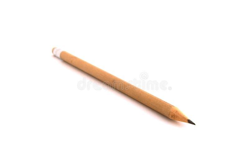Point de vue de crayon de Brown illustration de vecteur